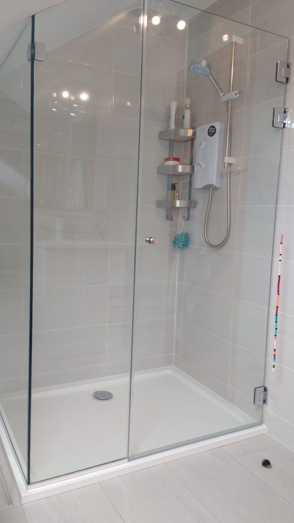 Domestic Glass Shower Fitting In Cobh