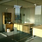 Glass Partitions Installation Cork